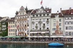 市琉森,瑞士 免版税图库摄影