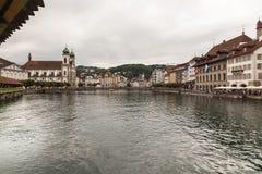市琉森,瑞士 库存图片
