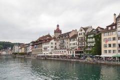 市琉森,瑞士 图库摄影