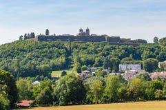 市的城堡的看法Montmédy 库存照片