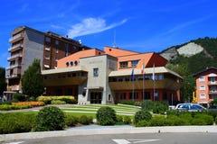 市的城镇厅萨尔尼科 免版税库存照片