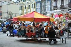 市的居民拉巴斯城市假日 免版税库存图片