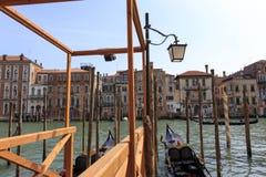 市的看法威尼斯 免版税库存图片