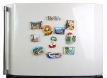 市的纪念品磁铁refri的门的意大利 库存照片