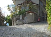 市的老镇图恩(瑞士) 库存图片