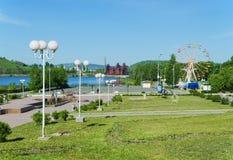 市的视域Nizhny Tagil 库存图片
