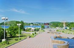 市的视域Nizhny Tagil 免版税库存照片