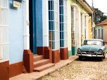 市的风景看法特立尼达古巴 免版税库存照片