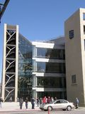 市立图书馆,盐湖城,犹他 免版税库存照片