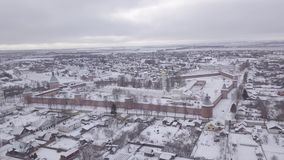 市苏兹达尔 Spaso-Evfimiev修道院 大教堂preobrazhensky spaso 假定餐厅教会 影视素材