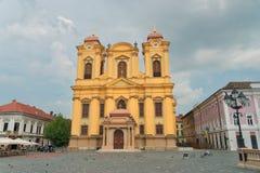 市蒂米什瓦拉在罗马尼亚 免版税库存图片