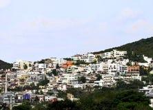 市蒙特雷,山的底部的 免版税图库摄影