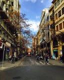 市西班牙,巴伦西亚 库存照片