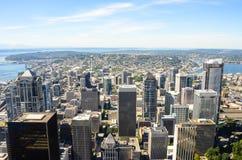 市西雅图 库存图片