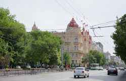 市议会大厦镇家在1899年修造的由archi 免版税库存图片