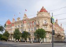 市议会大厦镇家在1899年修造的由archit 库存图片