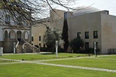 市议会庭院马托西纽什葡萄牙 免版税库存图片
