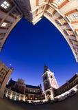 市议会波兹南 免版税库存图片