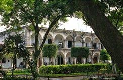 市议会(城镇厅)的宫殿,安地瓜 免版税库存图片