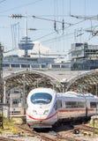市郊火车在德国 库存照片