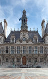 市长的职位巴黎 免版税库存图片