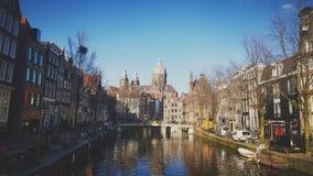 市阿姆斯特丹 库存图片