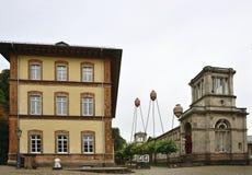 市Baden-Baden,德国01 免版税库存照片