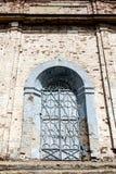 市Birsk 对Archang的教会的古老门 库存图片