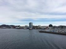 市Bodø,诺尔兰,挪威 免版税图库摄影