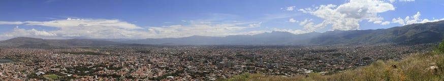 市Cochamba,玻利维亚 免版税库存照片