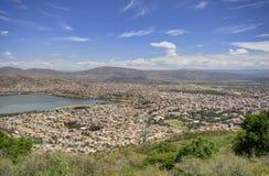 市Cochamba,玻利维亚 图库摄影