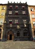 市Lviv在乌克兰 免版税库存照片