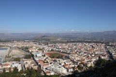 市Nafplion,希腊 库存照片