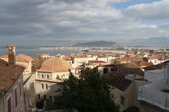 市Nafplion,希腊 免版税库存图片