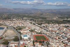 市Nafplion,希腊 库存图片