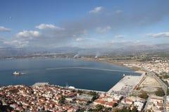 市Nafplion,希腊 免版税图库摄影