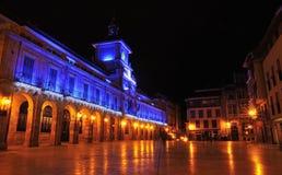市Oviedo。 库存图片