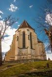 市Sighisoara教会 库存图片
