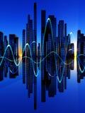 市Soundwave 6 库存照片