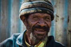 巴布亚新几内亚的微笑 免版税库存图片