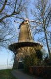 布伦,荷兰风车  免版税图库摄影