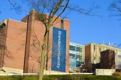布兰戴斯大学在Waltham, 2016年12月11日的美国 库存图片