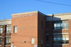 布兰戴斯大学在Waltham, 2016年12月11日的美国 图库摄影