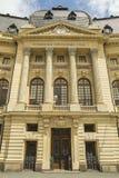 布加勒斯特中央大学图书馆 库存图片