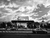 布加勒斯特国家戏院 库存照片