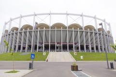 布加勒斯特国民竞技场 免版税库存照片