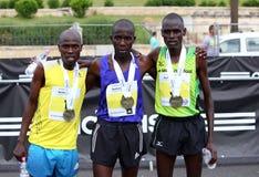 布加勒斯特国际半马拉松2015年 库存图片