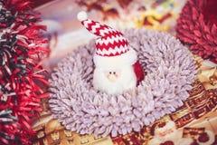 布加勒斯特圣诞节市场, 2015年12月 图库摄影