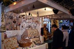 布加勒斯特圣诞节市场 图库摄影