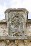 布加勒斯特堡垒防御线 免版税库存图片